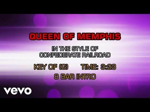 Confederate Railroad - Queen Of Memphis (Karaoke)