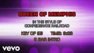 Confederate Railroad - Queen Of Memphis (Karaoke)