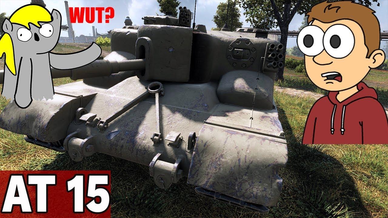 POTĘGA DPM? – AT 15 – World of Tanks