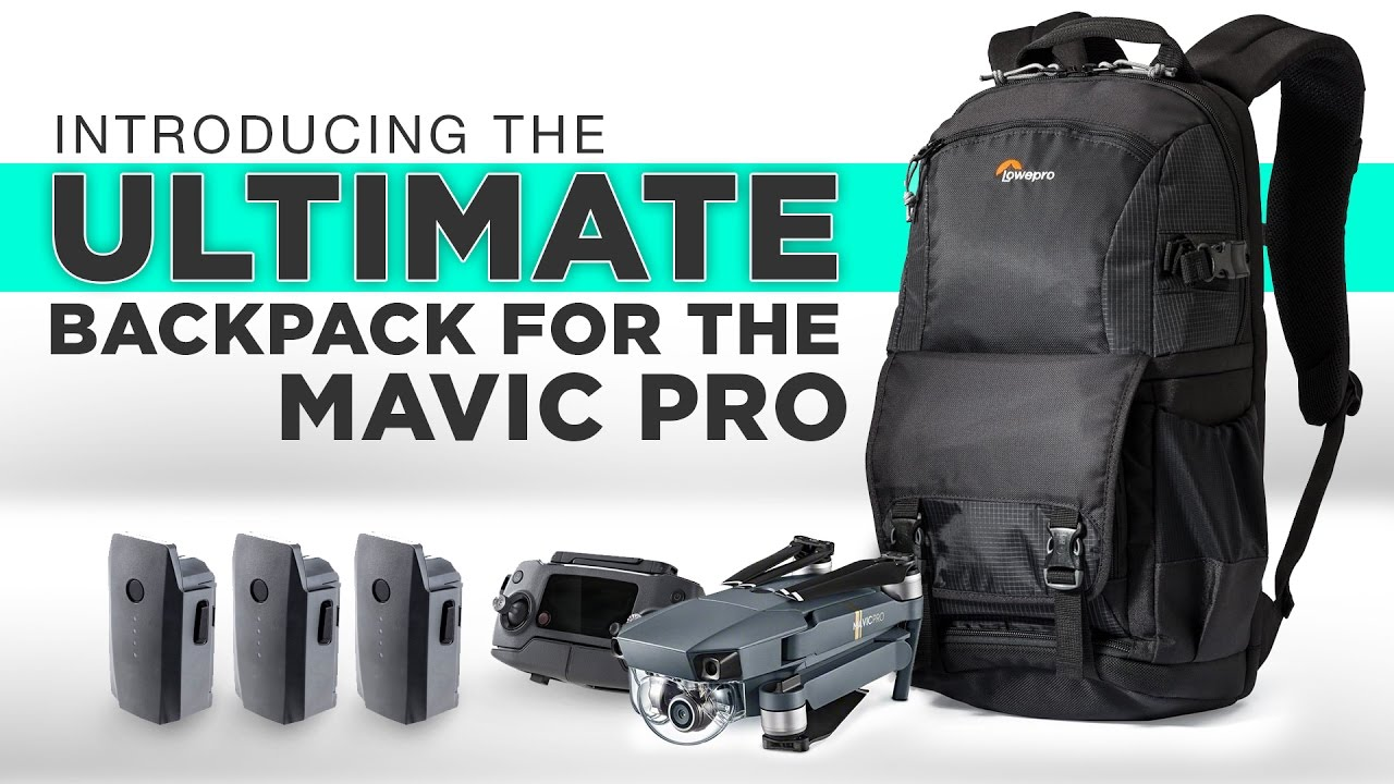 0a7b5607a62 The ULTIMATE Backpack For The MAVIC PRO - YouTube