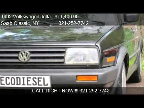 1992 Volkswagen Jetta GL ECO Diesel 4dr Sedan for sale in St