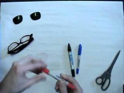 3D glasses.flv