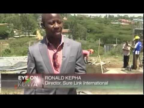 Surelink Director's Interview with CNBC Africa on Hydraform Building Systems