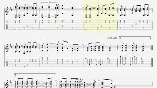 Don't Cry For Me Argentina - Fingerstyle Guitar TAB