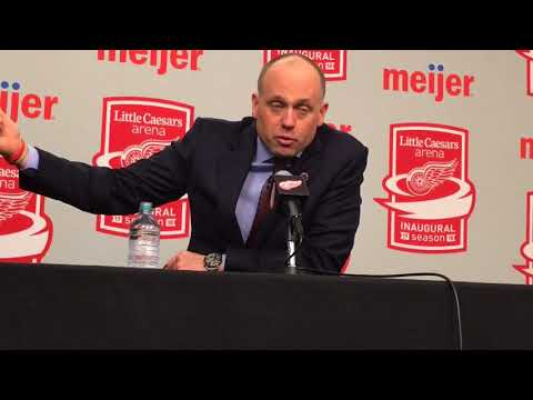 Red Wings' Jeff Blashill puzzled by goalie interference interpretation