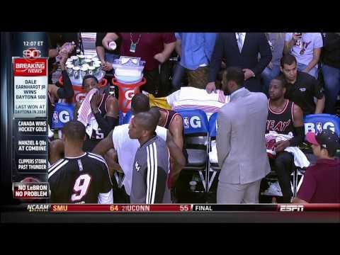 February 23, 2014 - ESPN - Game 54 Miami Heat Vs Chicago Bulls - Win (40-14)(Sportscenter)