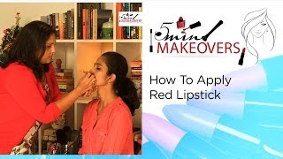 Christmas Special || How To Apply Red Lipstick || The Cloakroom Thumbnail