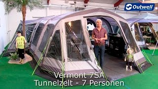 Outwell Vermont 7SA Zęlt   Innovative Family Camping