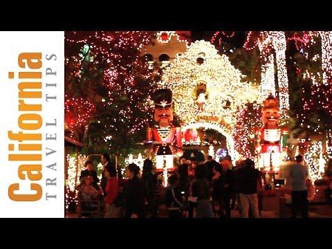 Christmas Light Show - Mission Inn Festival of Lights