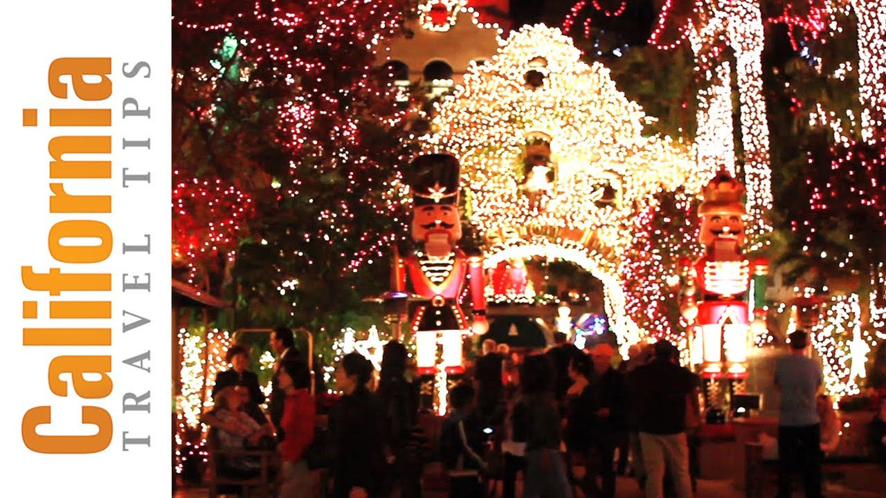 Christmas Light Show - Mission Inn Festival of Lights - YouTube
