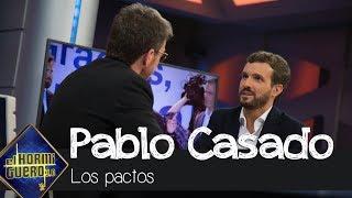 Pablo Casado sobre los pactos: