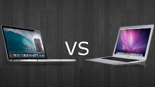Diferencias entre una macbook pro y una macbook air