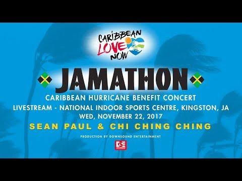 JAMATHON - Sean Paul & Chi Ching Ching Performance  - Donate Now At Caribbeanlovenow.org