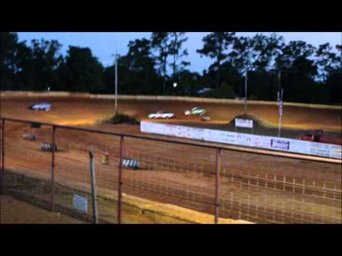 Flomaton Speedway heat race 06/18/2011 Carl Dodson