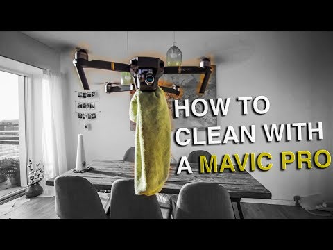How to clean with a DJI Mavic Pro