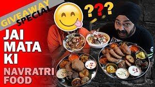 Navratri special snacks and thali in New Delhi