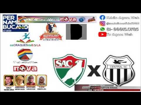 PERNAMBUCANO 2020 - SALGUEIRO X CENTRAL 25/01
