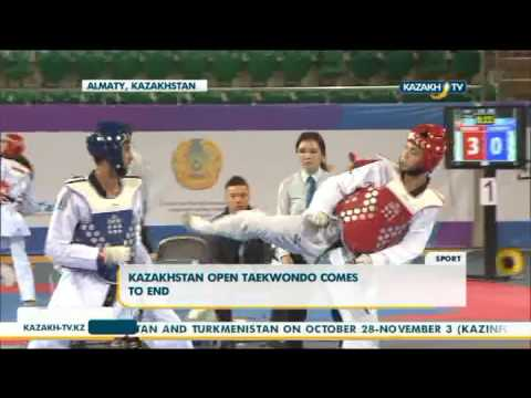 Kazakhstan Open Taekwondo comes to end - Kazakh TV