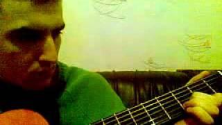 Пример игры на гитаре