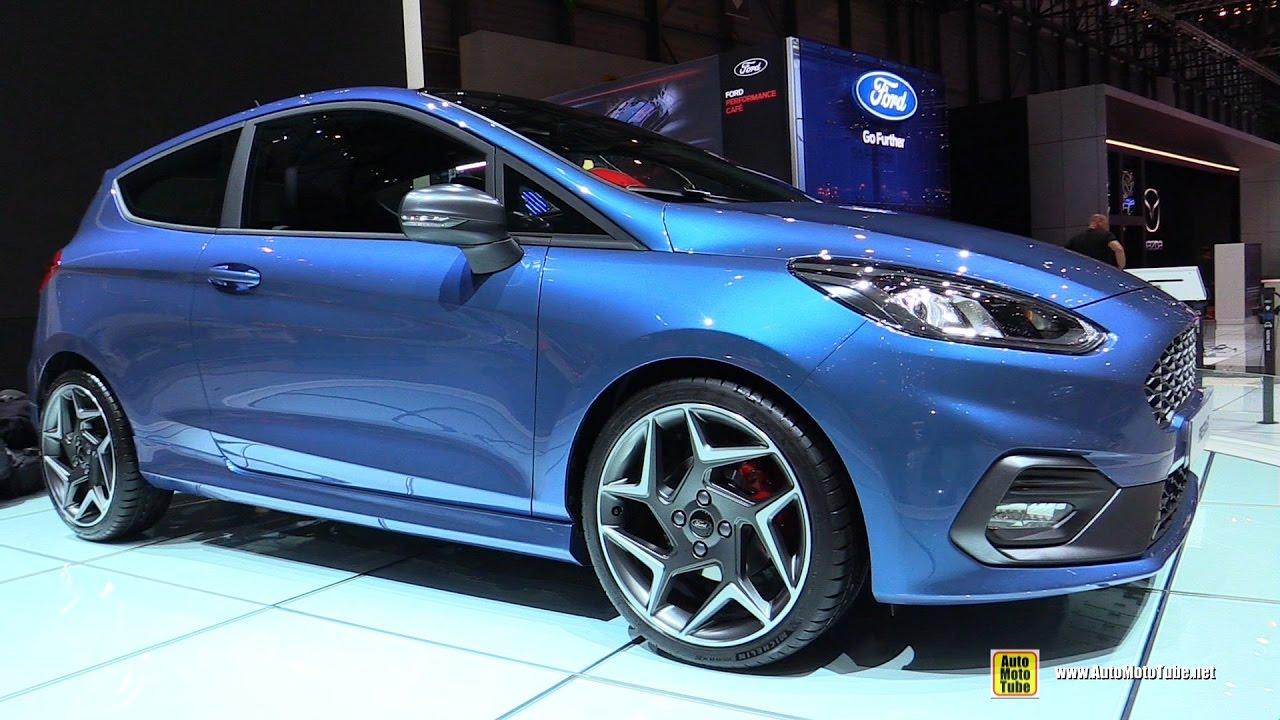 2018 Ford Fiesta ST - Exterior and Interior Walkaround - 2017 Geneva Motor Show - YouTube