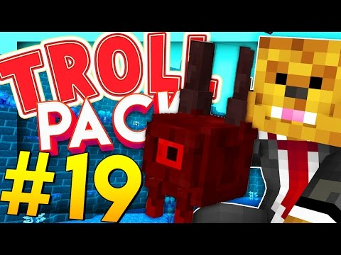 BREAKING THE SERVER FOR MAX HUNTER LEVEL - Minecraft TROLL PACK #19