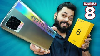 realme 8 Unboxing And First Impressions 6 4 quot AMOLED Screen 64MP Camera Helio G95 amp More