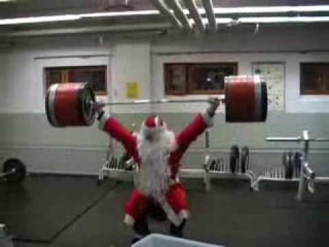 Santa Claus parkour 2006: A documentary film