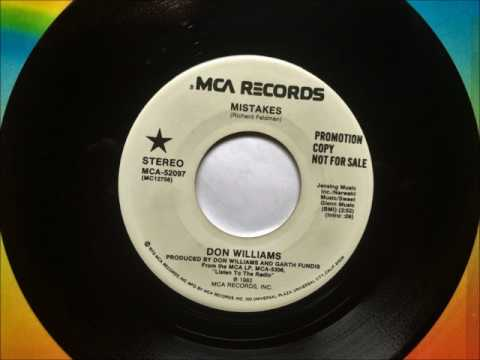 Mistakes , Don Williams , 1982