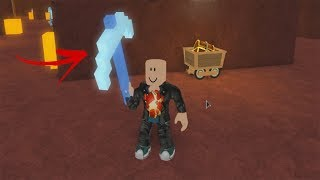 ROBLOX: I WENT INTO THE MINING SIMULATOR AND GOT THE RAREST PICK!! (Mining-Simulator)