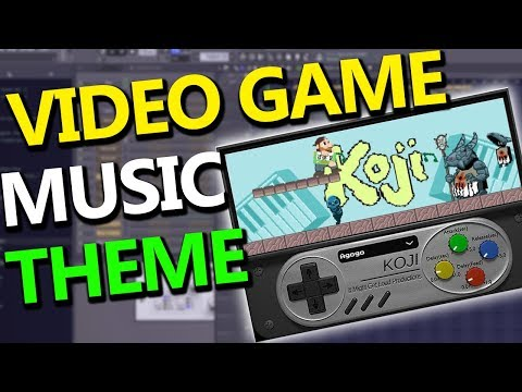 MAKING VIDEO GAME MUSIC THEME in FL Studio (using Koji)