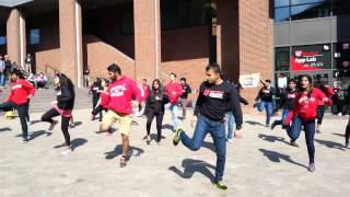 Indian Student Association (UC) Hosts Epic Flashmob for Worldfest