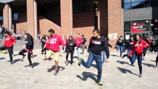 Indian Student Association (UC) Hosts Epic Flashmob for Worldfest