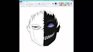 Speed Draw : Obito Black Zetsu : Paint
