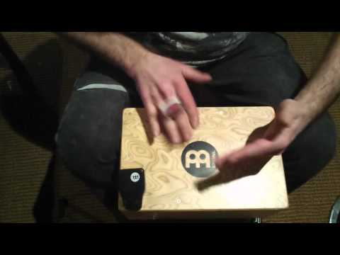 how to add a tambourine to a snaer