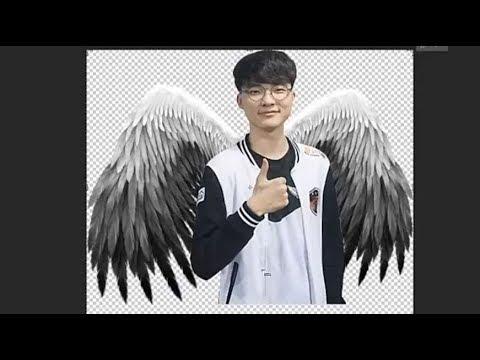 Tách nền và thêm cánh thiên thần bằng Photoshop