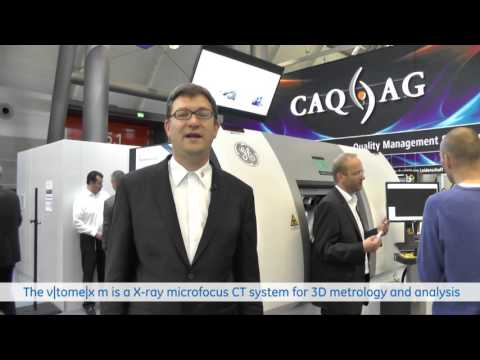 scatter|correct & next generation detectors: GEs industrial CT highlights at Control fair 2016