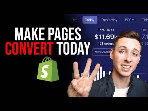 Ultimate 3 Tips To Make Your Product Pages Convert | Shopify Tips thumbnail