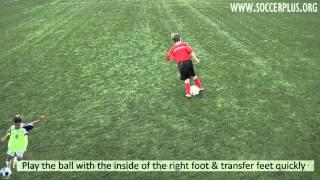 Plus 3 Skills Challenge Pyramid - #9 Inside foot twist off