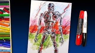 How to draw Terminator