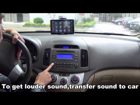 5 инчова GPS навигация за камион XGODY 560 с Bluetooth, карти от 2016 година 12