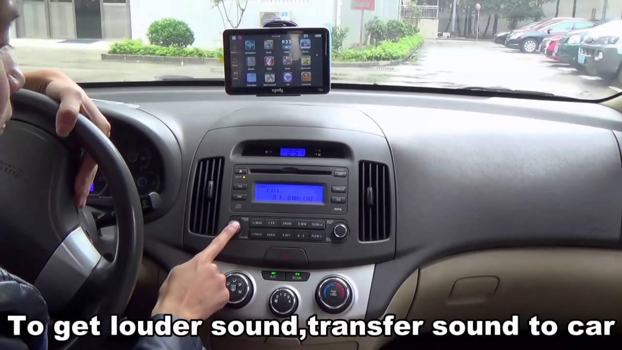 XGODY GPS Navigation User Video