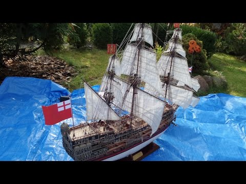 Budowa modelu HMS Sovereign of the Seas (DeAgostini) 1:84