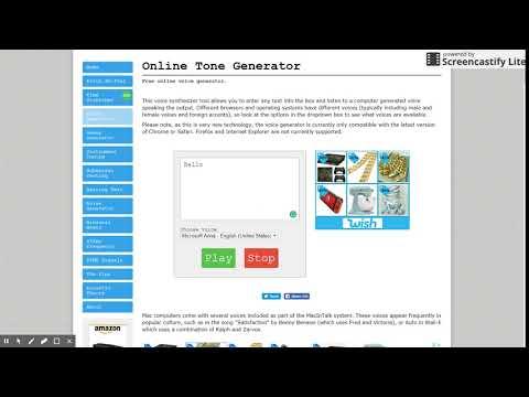 Free Online Voice Generator | OnlineToneGenerator com - YouTube