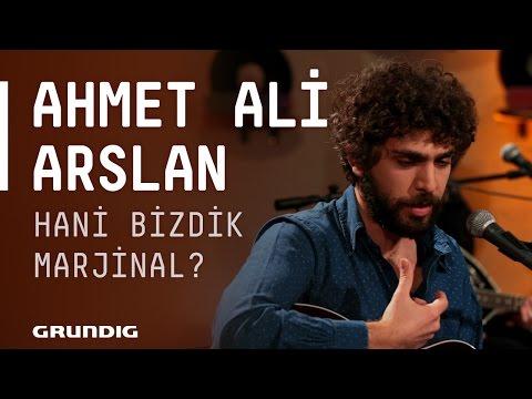 Ahmet Ali Arslan @Akustikhane - Hani Bizdik Marjinal? #Akustikhane #sesiniaç