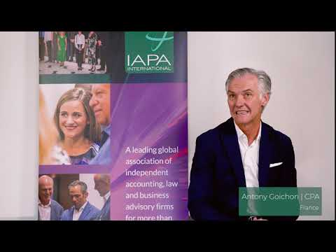 CPA Member video | Antony Goichon | France