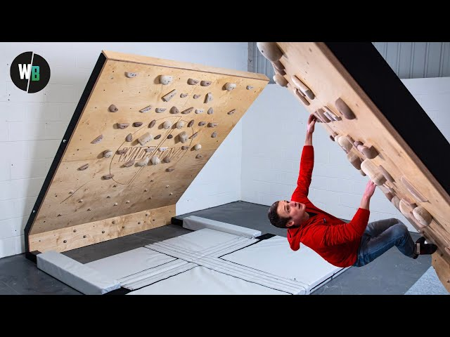 *NEW* Freestanding Home Climbing Wall - PRODUCT RELEASE!!