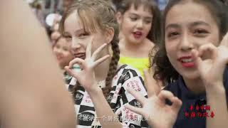 A dancer from Xinjiang