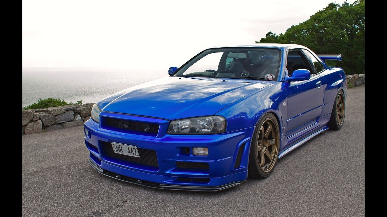 700bhp hks skyline gtr r34 twin turbo - youtube