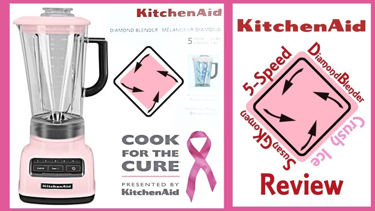 Kitchenaid 5 Speed Diamond Blender Review Like Vitamix
