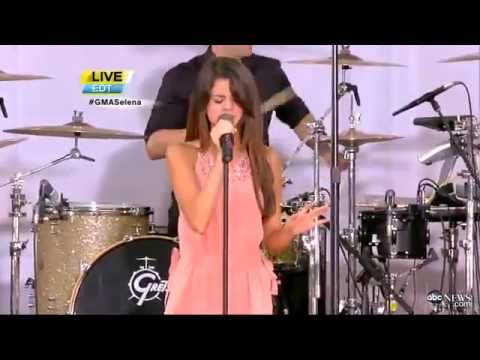 Selena Gomez & the Scene - Love You Like A Love Song Live on Good Morning America (6/17/2011)